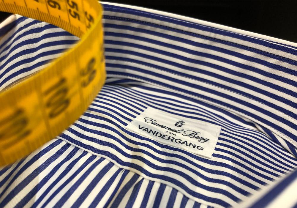 Overhemd op maat: Van der Gang